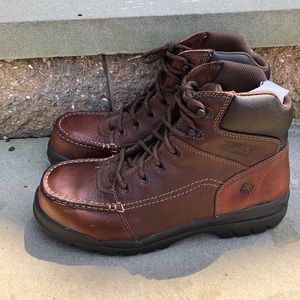 Wolverine Brown Composite Toe Boots